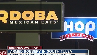 Armed Robbery in South Tulsa - Video