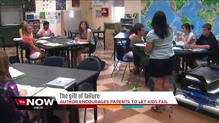 Author encourages parents to let kids fail