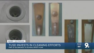 TUSD invests in cleaning efforts