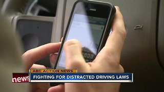 Fighting for tougher distracted driving laws