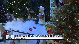 Walking through the enchanted forest at the Neville Public Museum