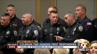 Colerain Township honors first responders - Video