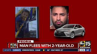 AMBER ALERT: Man takes two-year-old girl in Peoria - Video