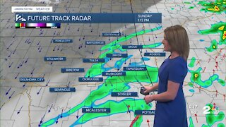 Tracking Showers and Storms