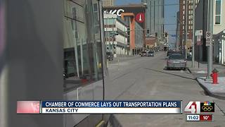 KC Chamber of Commerce lays out transportation plans - Video