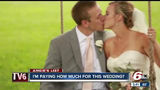 Angie's List: How much is too much for awedding - Video