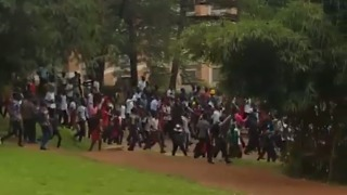 Ugandan Students Defy Protest Ban Ahead of Presidential Age-Limit Debate - Video