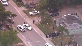 Person injured after shooting in Riviera Beach - Video