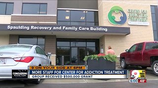 Center for Addiction Treatment gets $500K grant - Video