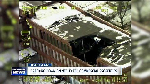 Mayor Byron Brown announces crackdown on commercial property neglect