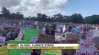 Thousands in Detroit, Ann Arbor expected to take part in Global Climate Strike