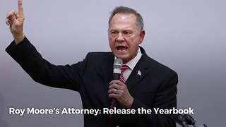 Roy Moore's Attorney: Release The Yearbook - Video