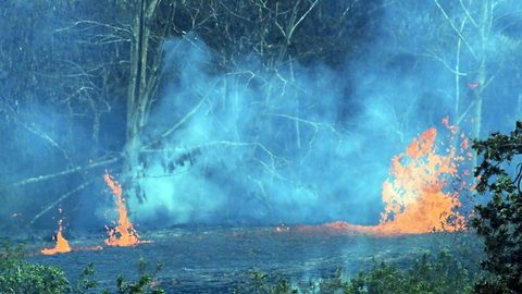 New fissure opening in Hawaii's Puna district