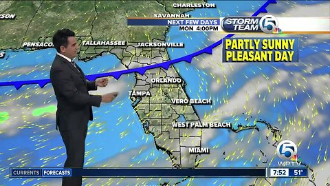 South Florida weather 12/22/18 - daytime report
