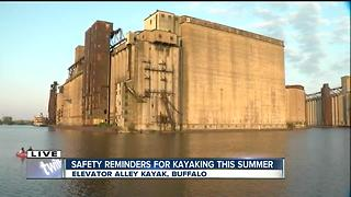 Safety tips for kayaking on the Buffalo River