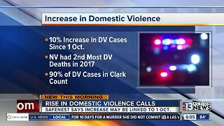 SafeNest advocates: domestic violence cases on the rise after Las Vegas mass shooting - Video