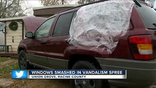 32 fall victim to vehicle vandalism in Union Grove
