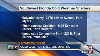 Shelters open across Southwest Florida - Video