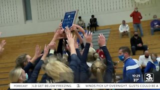 Metro Volleyball Final: Elkhorn South vs. Papillion-LV South