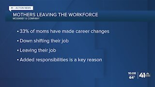 Kansas City metro mothers explain difficulty in leaving workforce