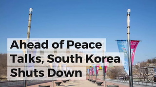 Ahead of Peace Talks, South Korea Shuts Down Propaganda Loudspeakers - Video