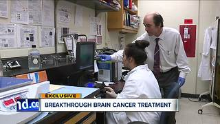 Breakthrough brain cancer treatment moving forward at Cleveland State University - Video