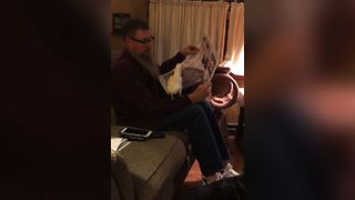 Pet Parrot Loves Newspapers