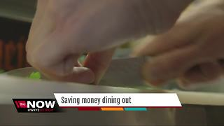 Saving money while dining out