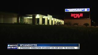 Wyandotte stranger danger: Man asks girl to get in his car, threatens her family - Video