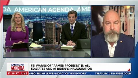 """FBI Warns of """"Armed protests"""" in all 50 States and At Biden's Inauguration"""