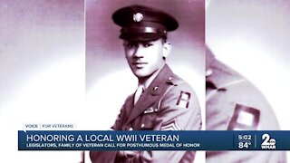 Legislators, family fighting to posthumously award veteran with Medal of Honor