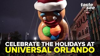 Celebrate the holidays at Universal Orlando | Taste and See Tampa Bay
