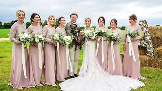 Porky Photobomber – Micro Pig Steals Limelight At Couple's Big Day