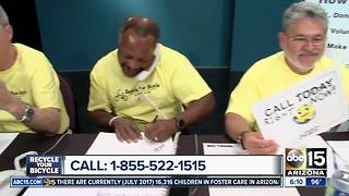 $18,870 raised during Recycle Your Bicycle phone bank - Video