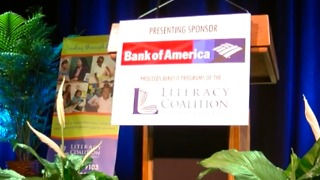Love of Literacy Luncheon held at Kravis Center - Video