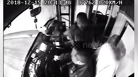 Allegedly drunk passenger attacks bus driver after he missed his stop