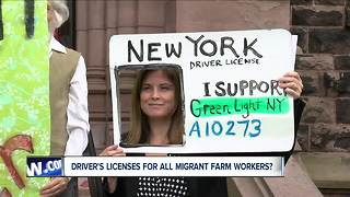 Driver's licenses for migrant farm workers? - Video