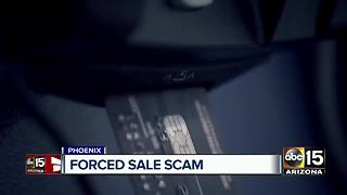 Man uses 'forced sale option' to scam Valley businesses - Video