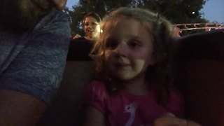 Toddler Girl's Reaction To Her First Roller Coaster Ride Is [...] ADORABLY HILARIOUS