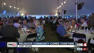 Community members come together in Fort Myers to celebrate National Day of Prayer