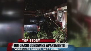 Driver crashes into bedroom of Cape Coral home