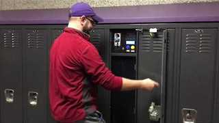 Student Turns Locker Into Vending Machine and We Want One - Video