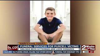 Siblings Beck Kitterman and Lizzie Edwards will be laid to rest - Video