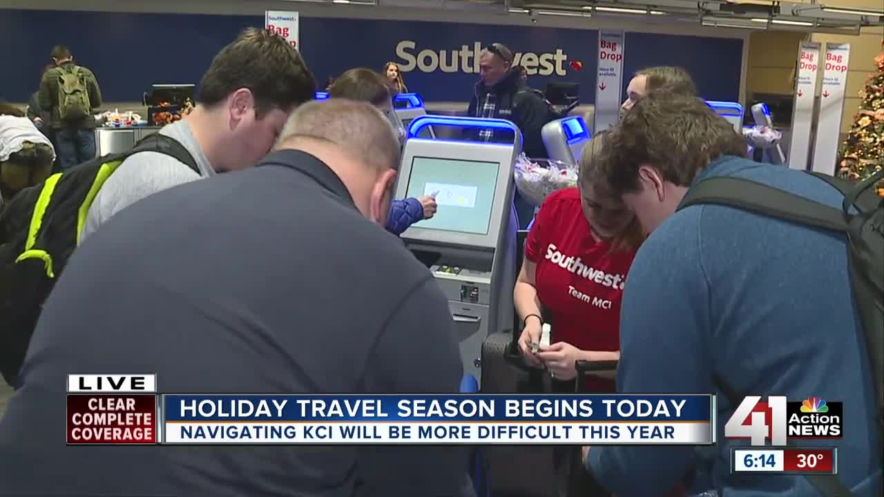 Holiday travel season begins Friday