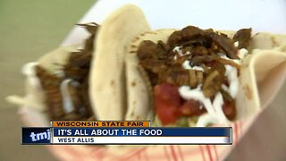 For some at the State Fair, it is all about the food