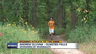 Student Athlete of the Week: Andrew Gluvna