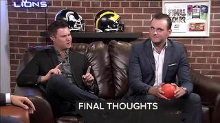 Final thoughts on the first Sunday night 7 Sports Cave - Video