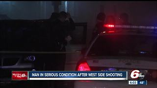 Man shot during attempted armed robbery after leaving Indianapolis nightclub - Video