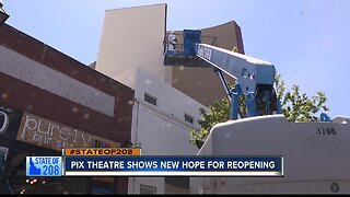 Historic Pix Theatre is one step closer to reopening