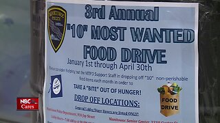 10 Most Wanted Food Drive